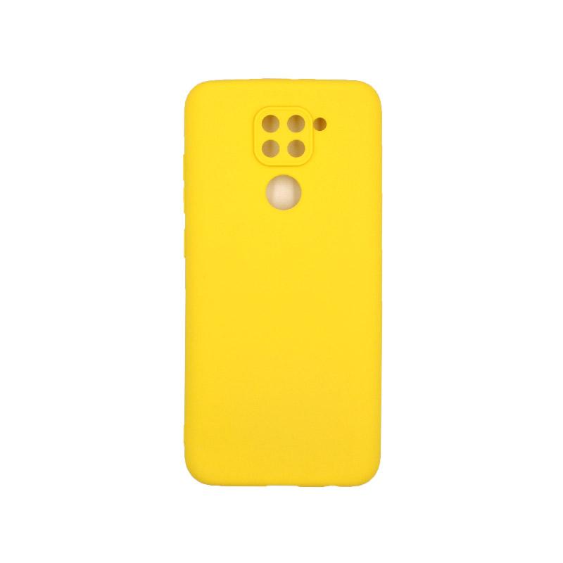 Θήκη Xiaomi Redmi Note 9 Σιλικόνη καφέ