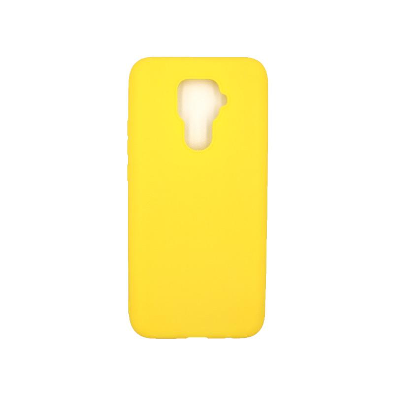 Θήκη Huawei Mate 30 Σιλικόνη κίτρινο