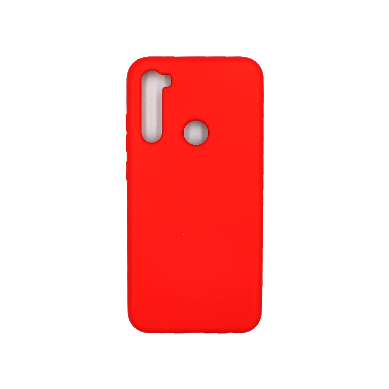 Θήκη Xiaomi Redmi Note 8 Silky and Soft Touch Silicone κόκκινο 1