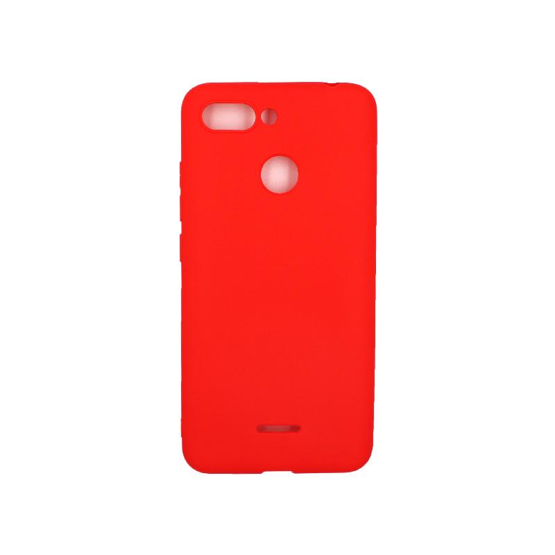 Θήκη Xiaomi Redmi 6 Σιλικόνη κόκκινο