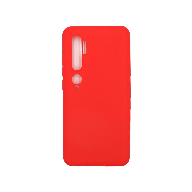 Θήκη Xiaomi Mi Note 10 / Note 10 Pro / CC9 Pro Σιλικόνη κόκκινο
