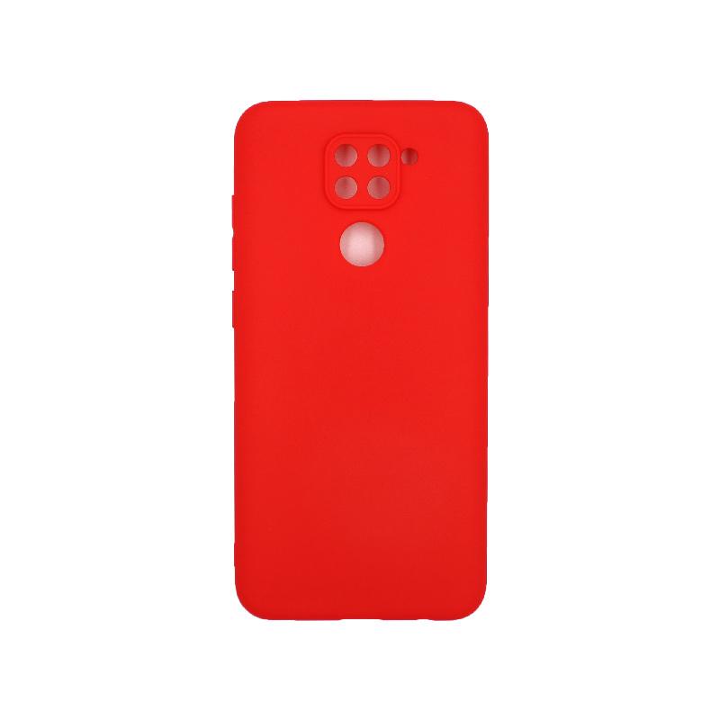 Θήκη Xiaomi Redmi Note 9 Σιλικόνη κόκκινο