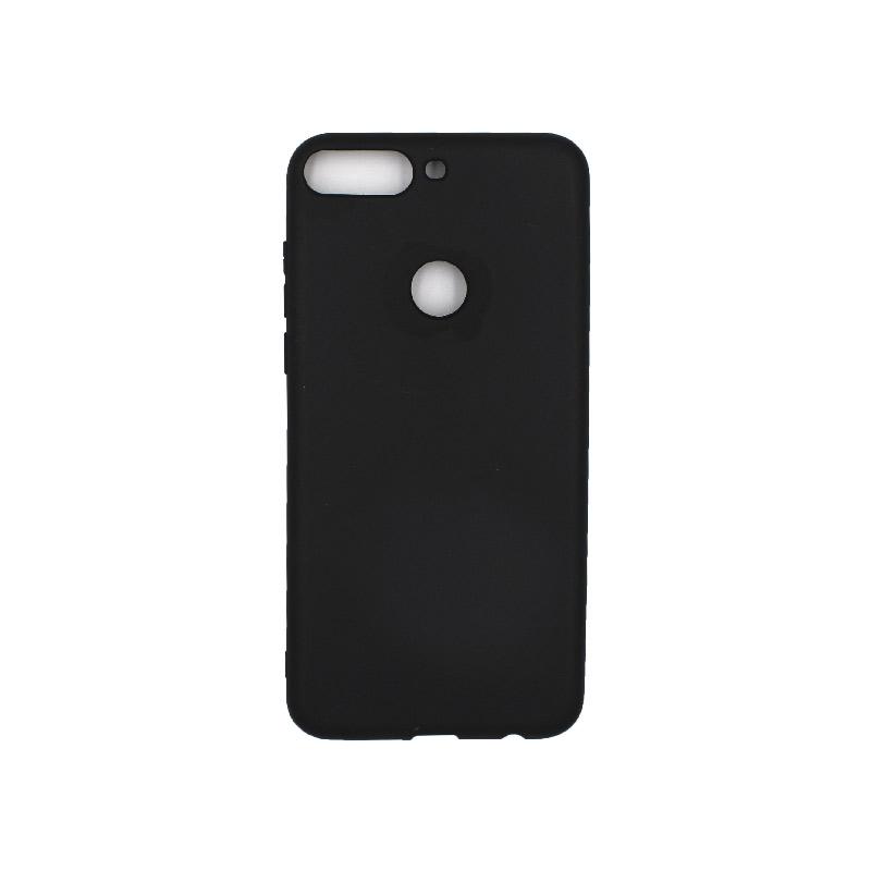 Θήκη Huawei Y7 2018 Σιλικόνη μαύρο