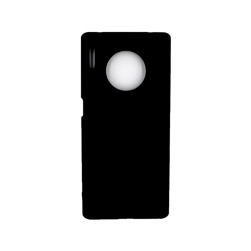 Θήκη Huawei Mate 30 Pro Silky and Soft Touch Silicone μαύρο 1