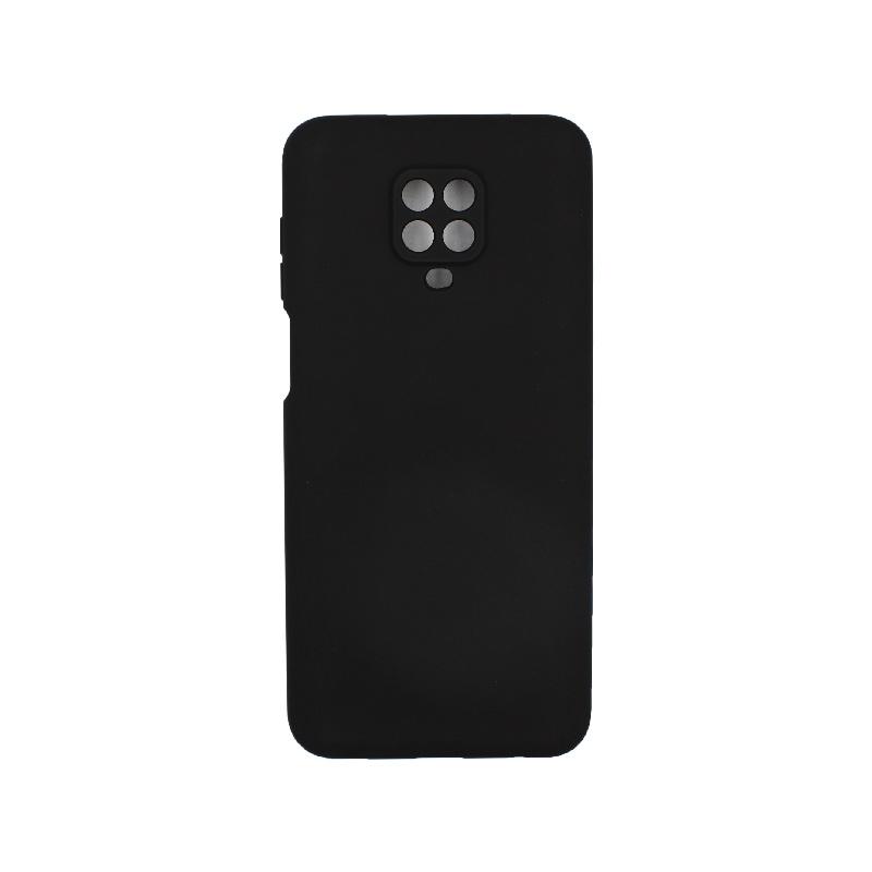 Θήκη Xiaomi Redmi Note 9S / Note 9 Pro / Max Silky and Soft Touch Silicone μαύρο 1