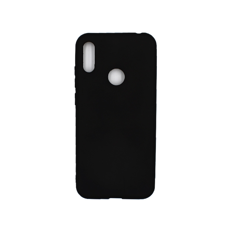 Θήκη Huawei Y6 2019 Σιλικόνη μαύρο