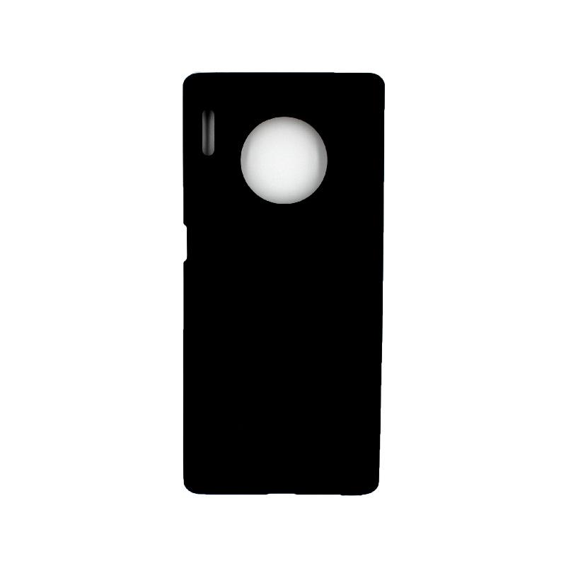 Θήκη Huawei Mate 30 Pro Σιλικόνη μαύρο