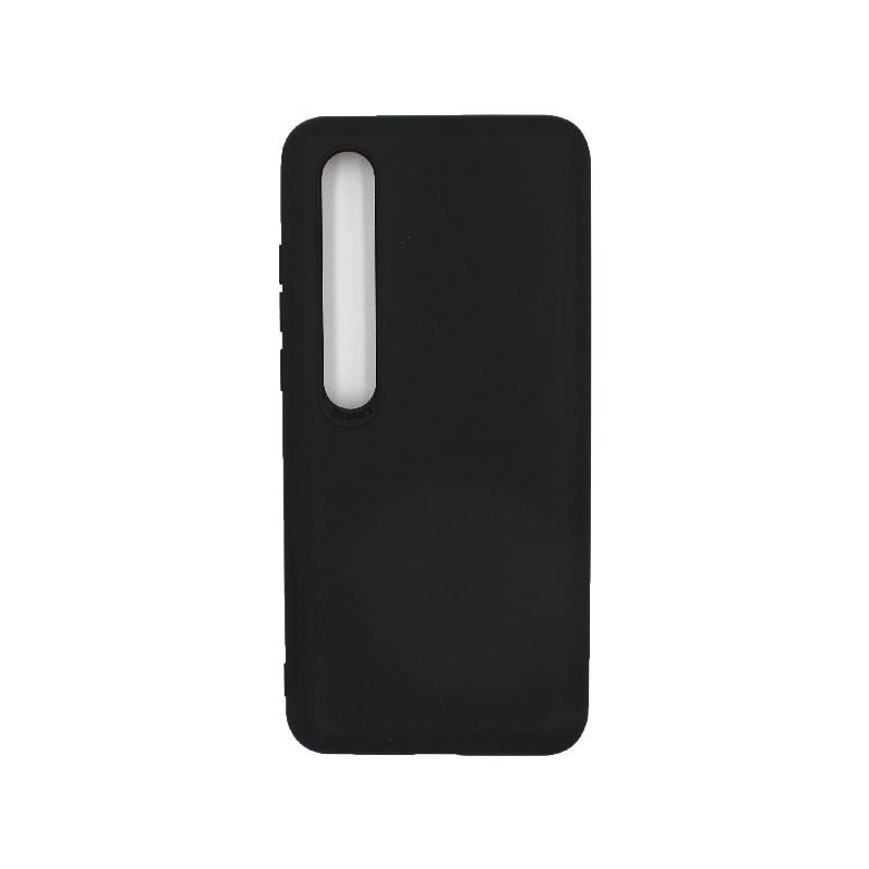 Θήκη Xiaomi Mi 10 / Mi 10 Pro Silky and Soft Touch Silicone μαύρο 1