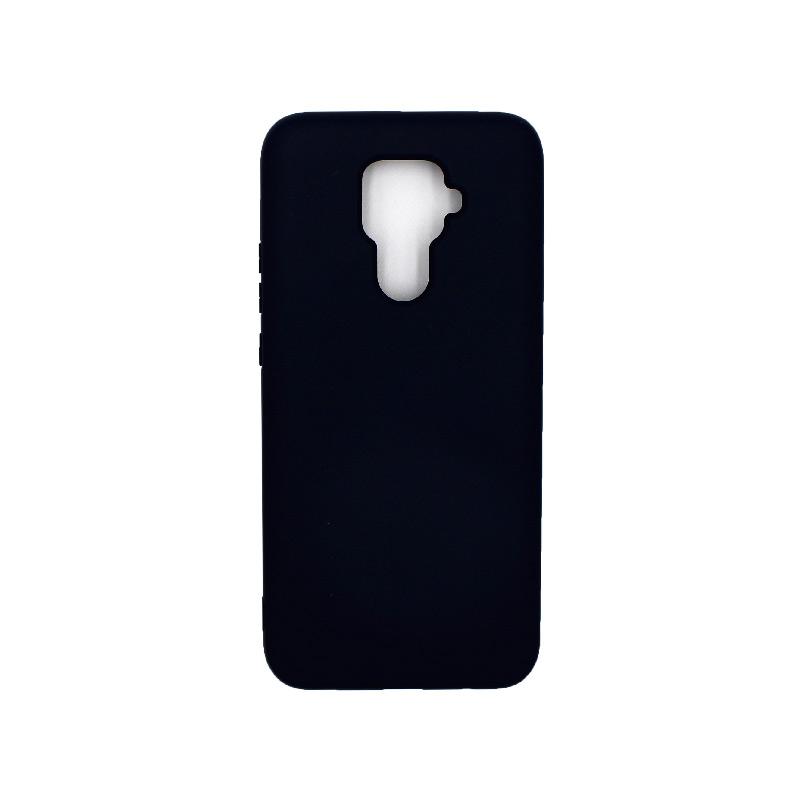 Θήκη Huawei Mate 30 Lite Silky and Soft Touch Silicone μαύρο 1