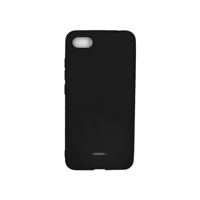 Θήκη Xiaomi Redmi 6A Σιλικόνη μαύρο