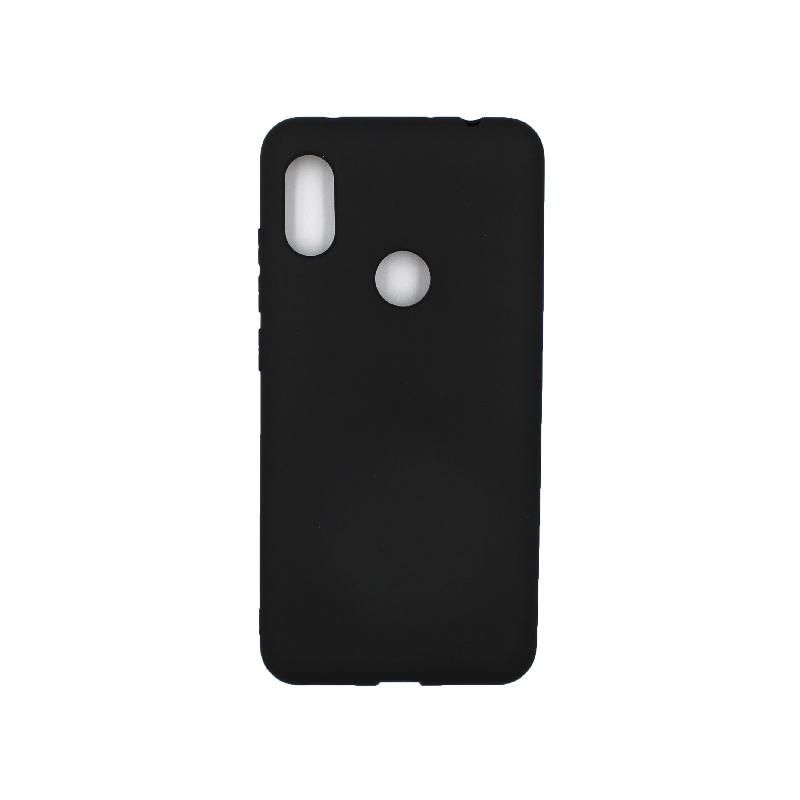 Θήκη Xiaomi Redmi Note 6 Pro Σιλικόνη μαύρο
