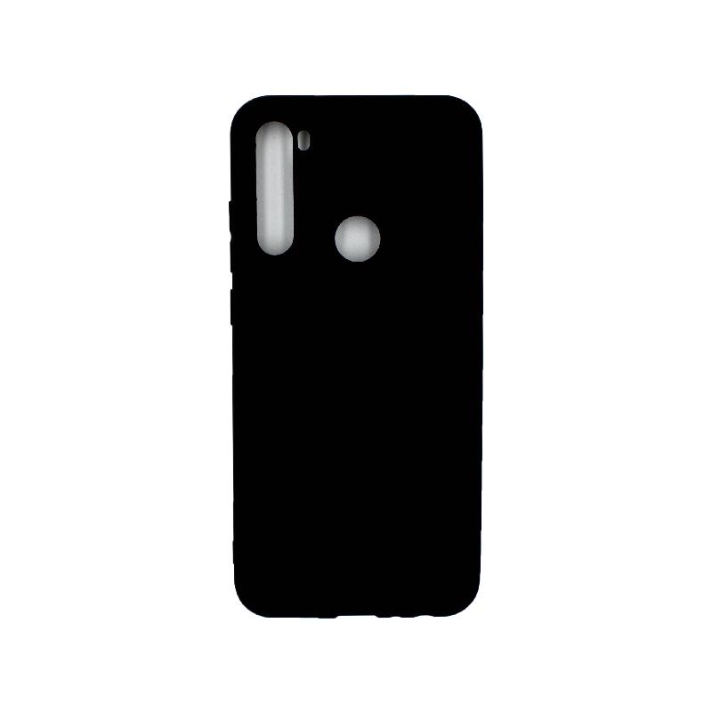 Θήκη Xiaomi Redmi Note 8T Σιλικόνη μαύρο