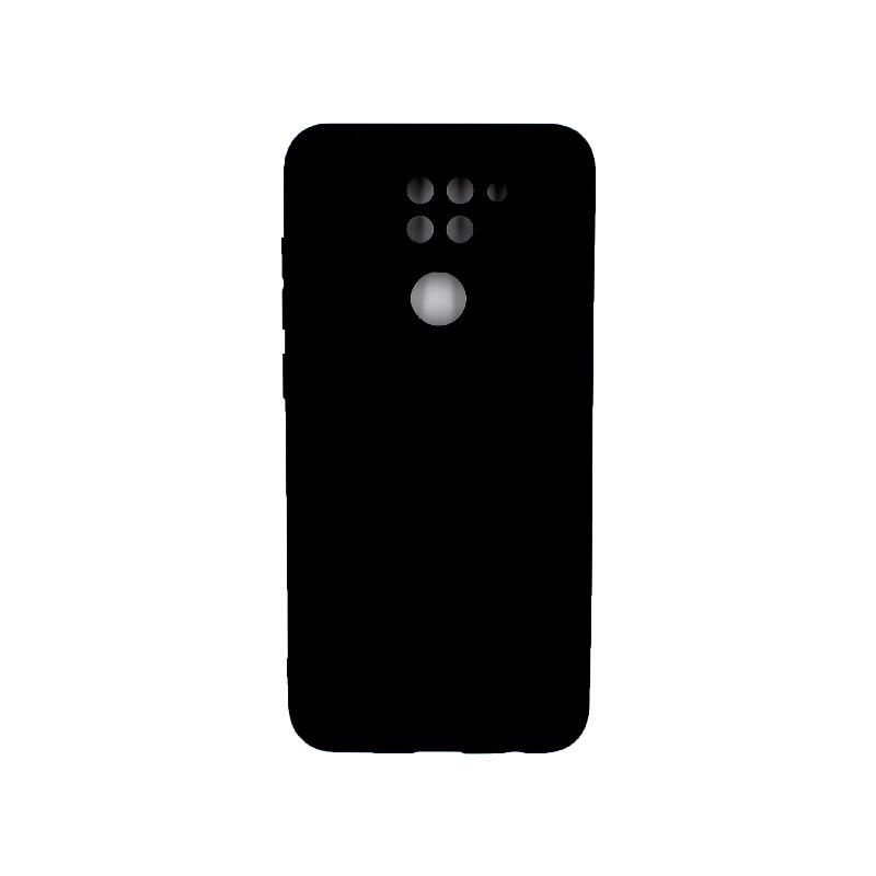 Θήκη Xiaomi Redmi Note 9 Σιλικόνη μαύρο