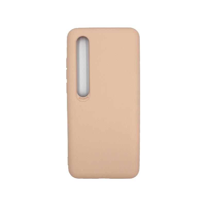 Θήκη Xiaomi Mi 10 / Mi 10 Pro Silky and Soft Touch Silicone μπεζ 1