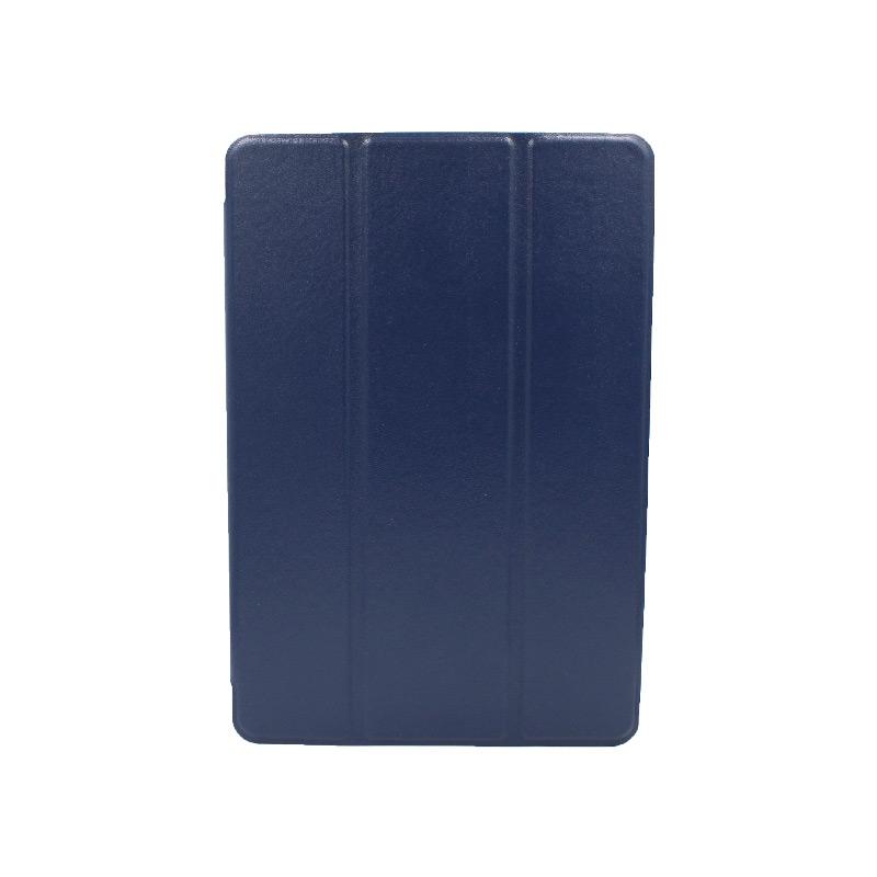θήκη huawei tablet mediaPad M5 lite 10.1'' πλάτη σιλικόνη μπλέ 1