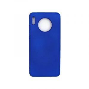 Θήκη Huawei Mate 30 Silky and Soft Touch Silicone μπλε 1