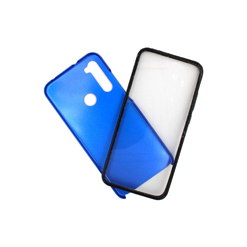 Θήκη Xiaomi Redmi Note 8T Full Body με Screen Protector μπλε 1