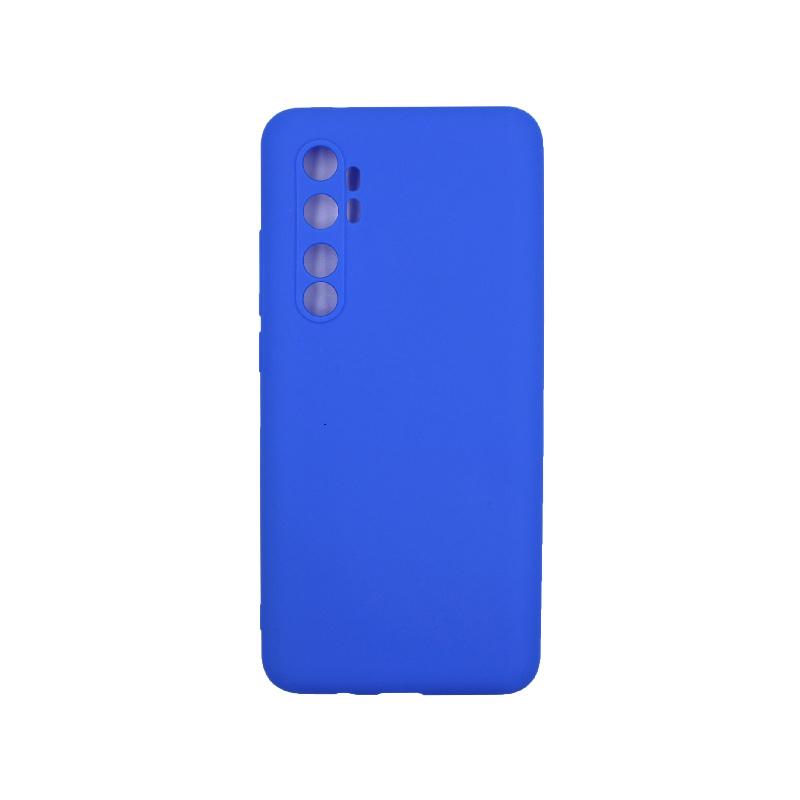 Θήκη Xiaomi Mi Note 10 Lite Σιλικόνη μπλε