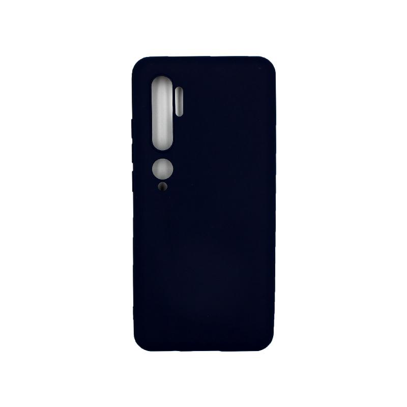 Θήκη Xiaomi Mi Note 10 / Note 10 Pro / CC9 Pro Σιλικόνη μπλε