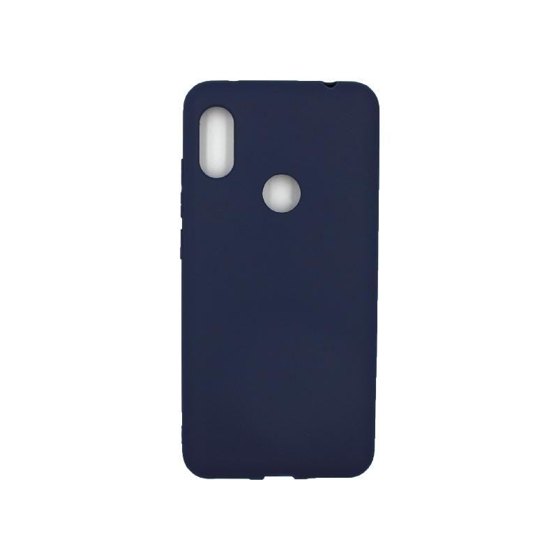 Θήκη Xiaomi Redmi Note 6 Pro Σιλικόνη μπλε