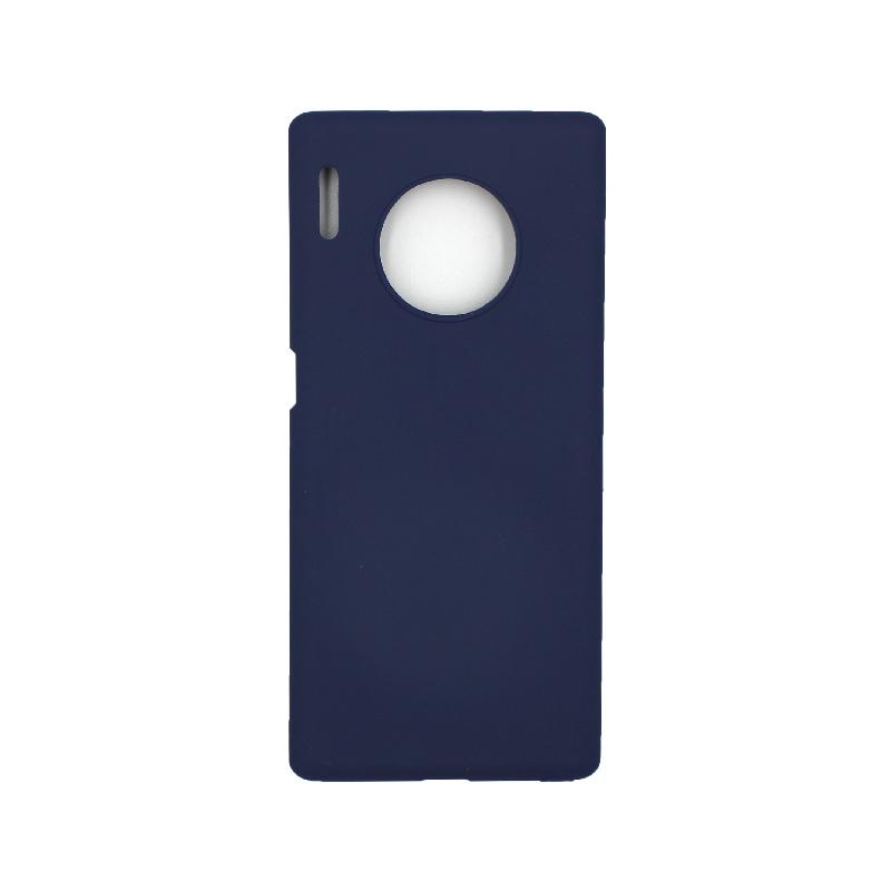 Θήκη Huawei Mate 30 Pro Σιλικόνη μπλε