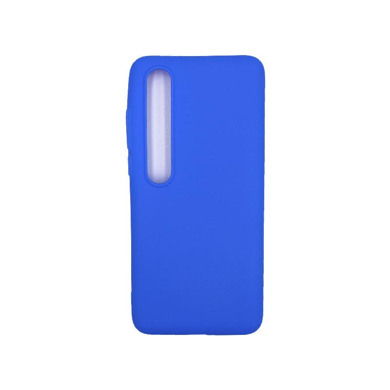 Θήκη Xiaomi Mi 10 / Mi 10 Pro Σιλικόνη μπλε