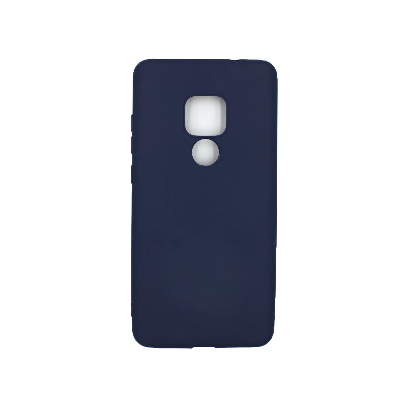 Θήκη Huawei Mate 20 Σιλικόνη μπλε