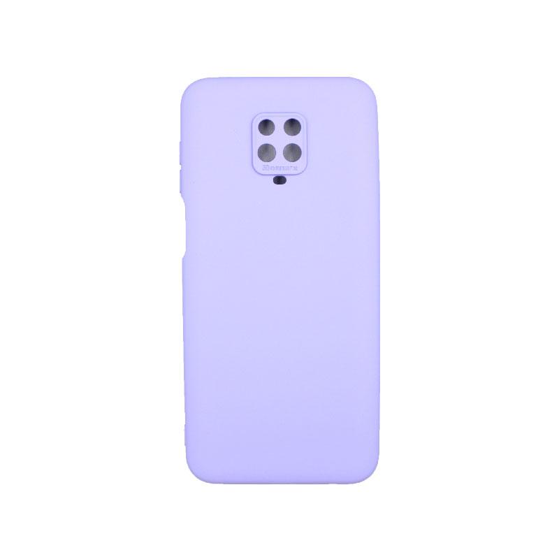 Θήκη Xiaomi Redmi Note 9S / Note 9 Pro / Note 9 Pro Max Silky and Soft Touch Silicone μωβ