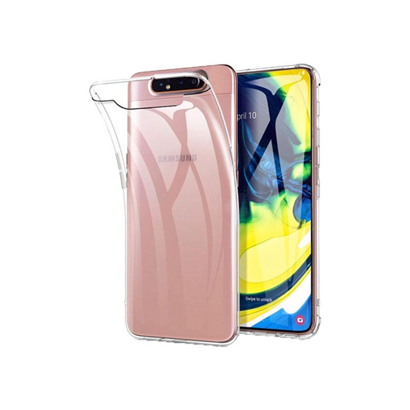 Θήκη Σιλικόνης 0.3mm Διάφανο Samsung Galaxy A80