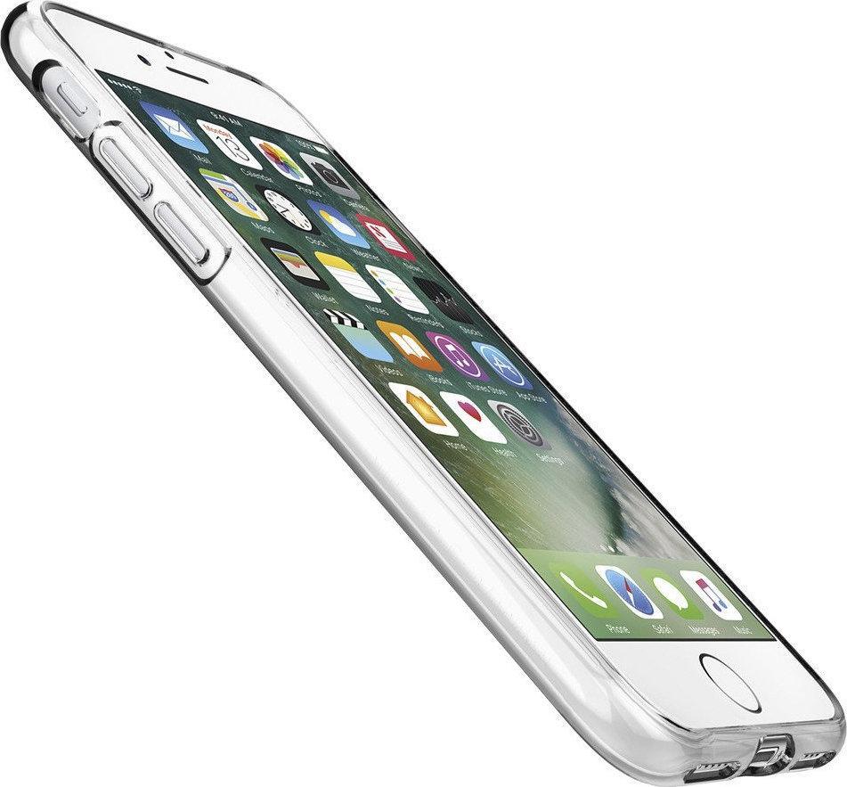 θήκη Iphone 7 / 8 / SE 2020 Σιλικόνης Διάφανο Διαφημιστικό 3
