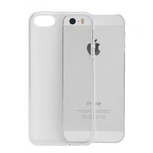 διαφανής θήκη σιλικόνη iphone 5- 5s -SE