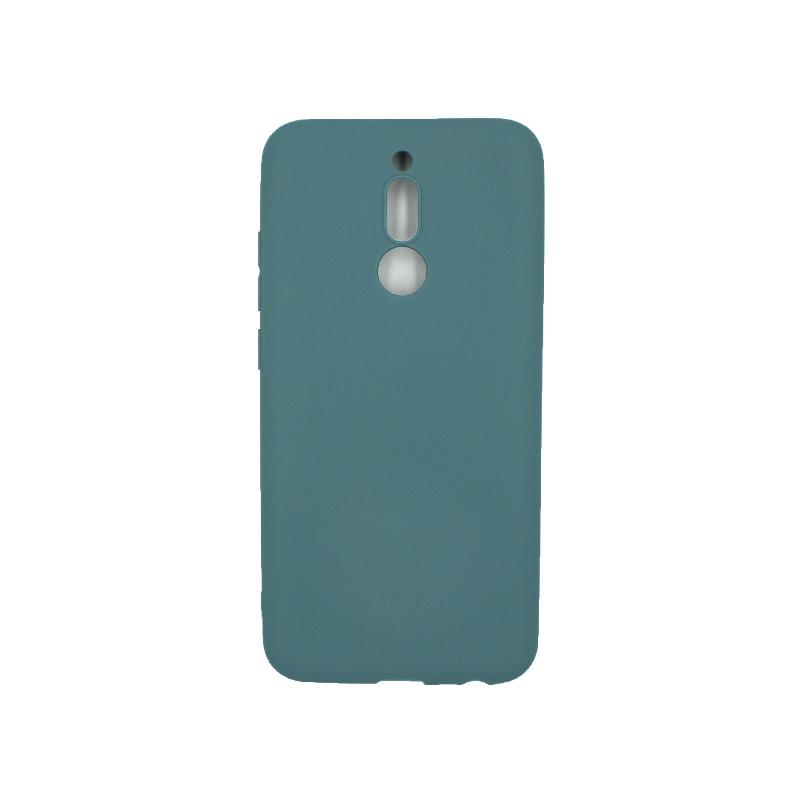 Θήκη Xiaomi Redmi 8 Σιλικόνη πετρόλ