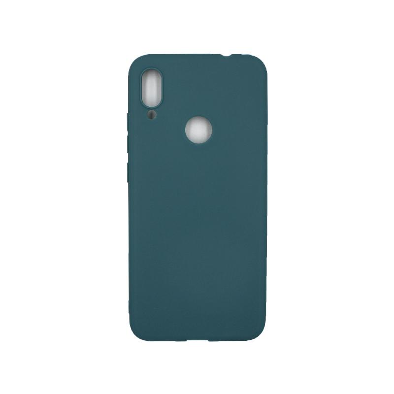 Θήκη Xiaomi Redmi Note 7 / 7 Pro Σιλικόνη πετρόλ