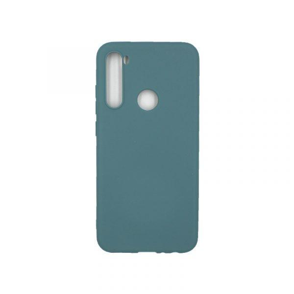 Θήκη Xiaomi Redmi Note 8 Σιλικόνη πετρόλ