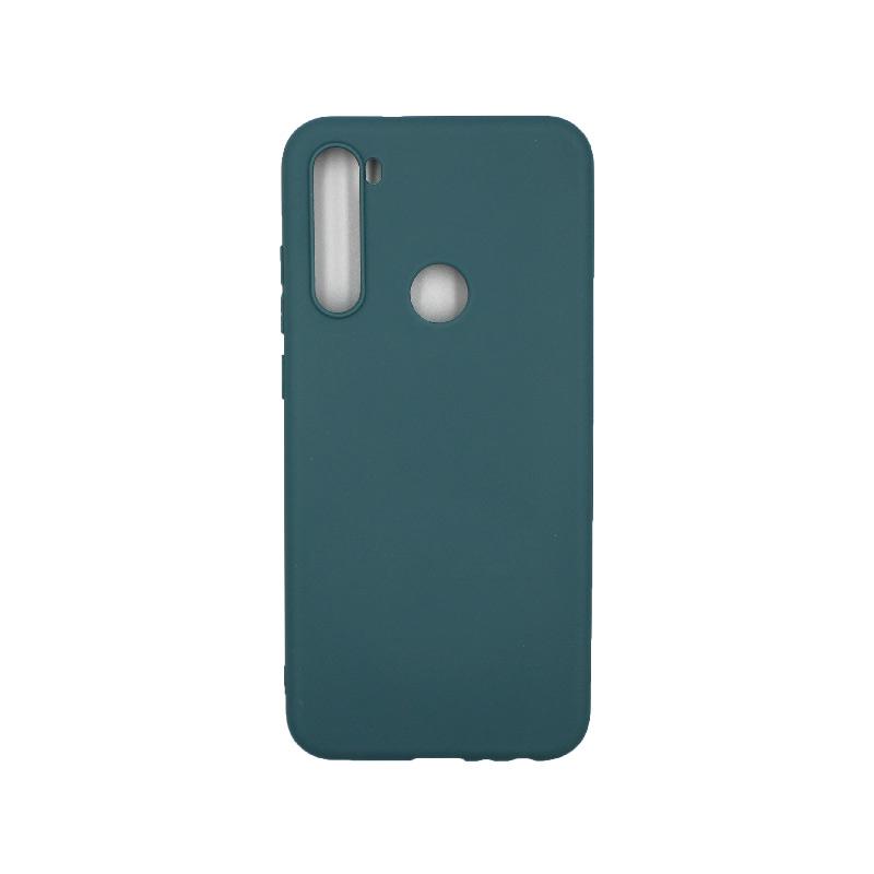 Θήκη Xiaomi Redmi Note 8T Σιλικόνη πετρόλ