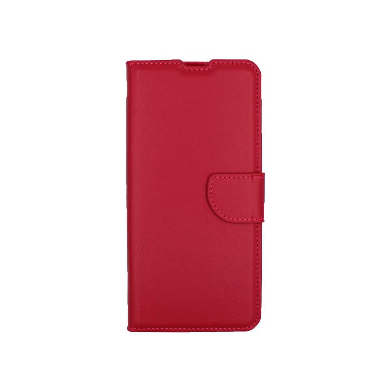 Θήκη Xiaomi Mi 10 / Mi 10 Pro πορτοφόλι σκούρο κόκκινο 1