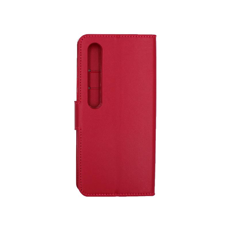 Θήκη Xiaomi Mi 10 / Mi 10 Pro πορτοφόλι σκούρο κόκκινο 2