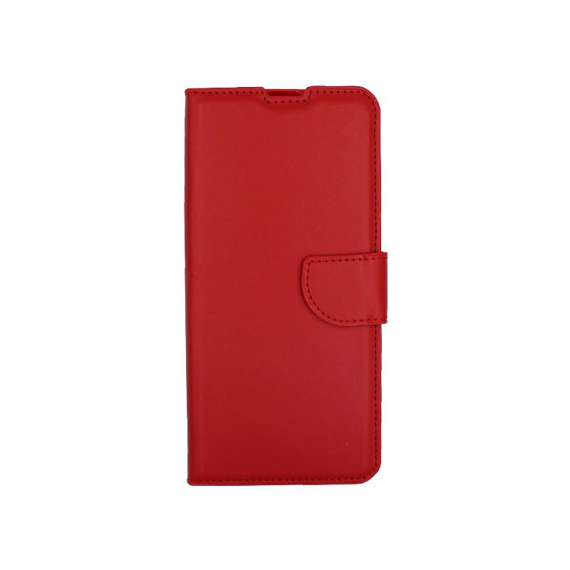 Θήκη Xiaomi Mi 10 / Mi 10 Pro πορτοφόλι κόκκινο 1