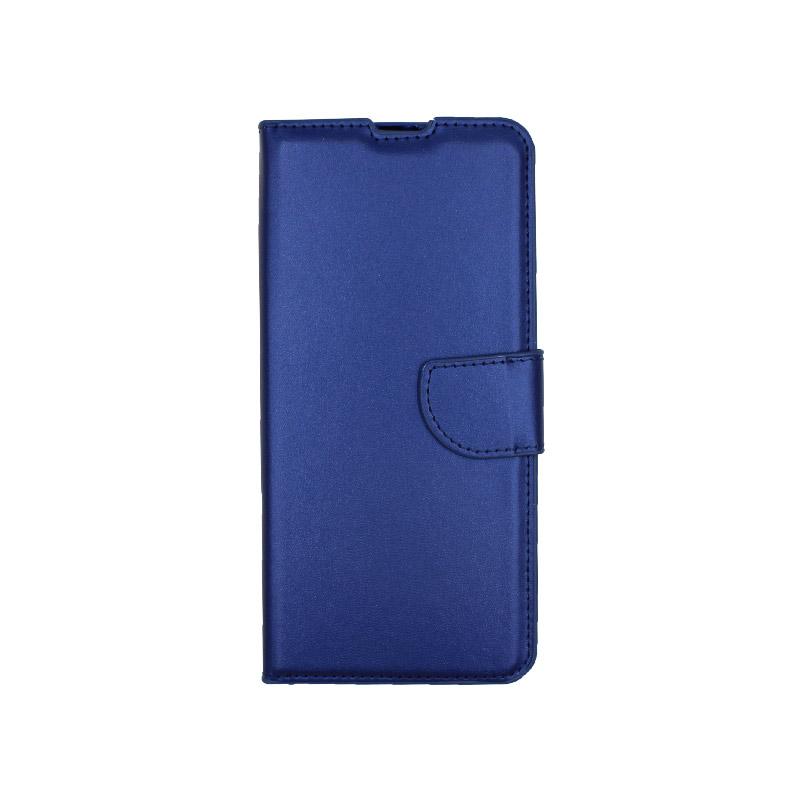Θήκη Xiaomi Mi 10 / Mi 10 Pro πορτοφόλι μπλε 1