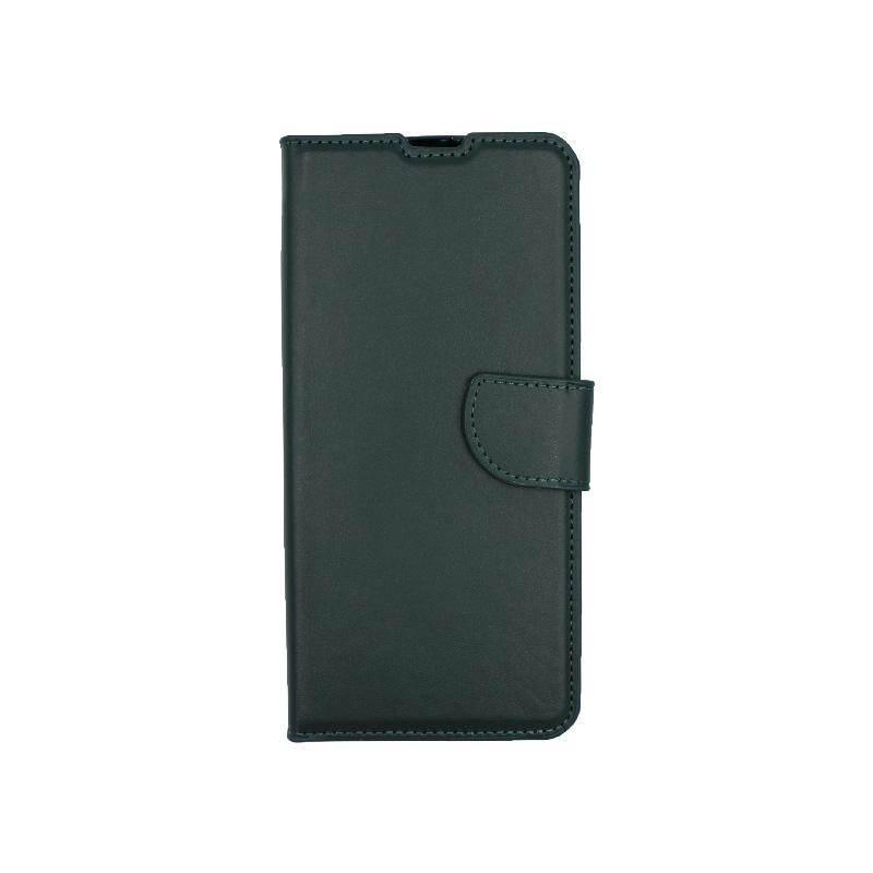 Θήκη Xiaomi Mi 10 / Mi 10 Pro πορτοφόλι πράσινο 1