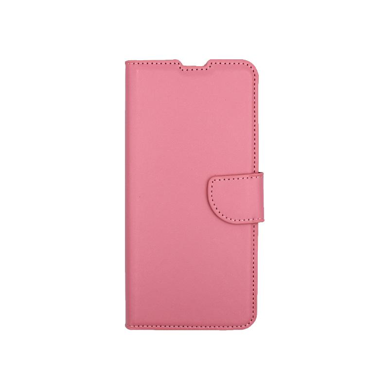 Θήκη Xiaomi Mi 10 / Mi 10 Pro πορτοφόλι ροζ 1