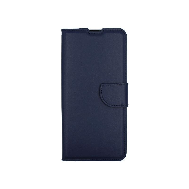 Θήκη Xiaomi Mi 10 / Mi 10 Pro πορτοφόλι σκούρο μπλε 1