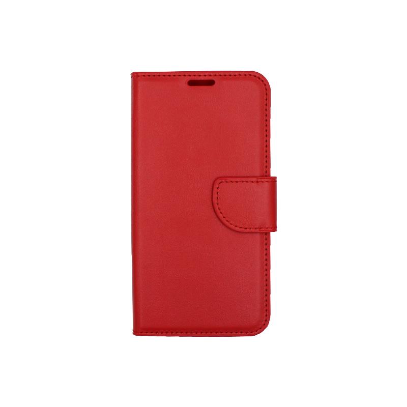 Θήκη Xiaomi Redmi Go πορτοφόλι κόκκινο 1