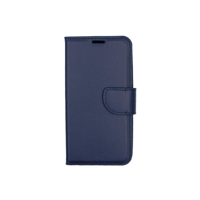 Θήκη Xiaomi Redmi Go πορτοφόλι μπλε 1