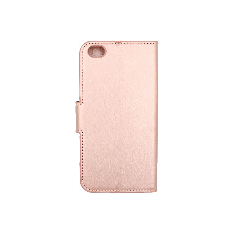 Θήκη Xiaomi Redmi Go πορτοφόλι ροζ 2