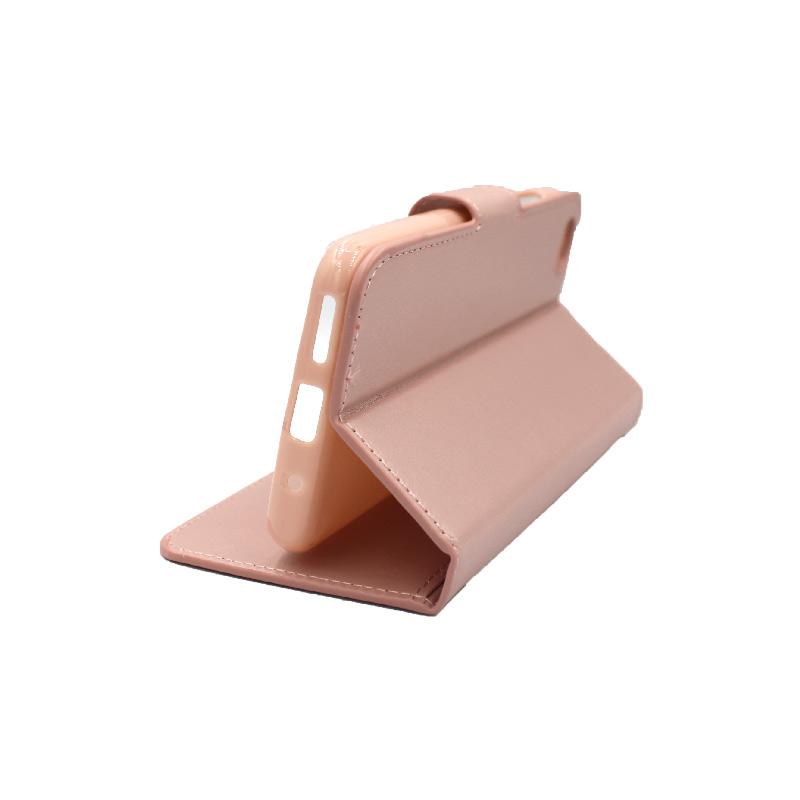 Θήκη Xiaomi Redmi Go πορτοφόλι ροζ 4