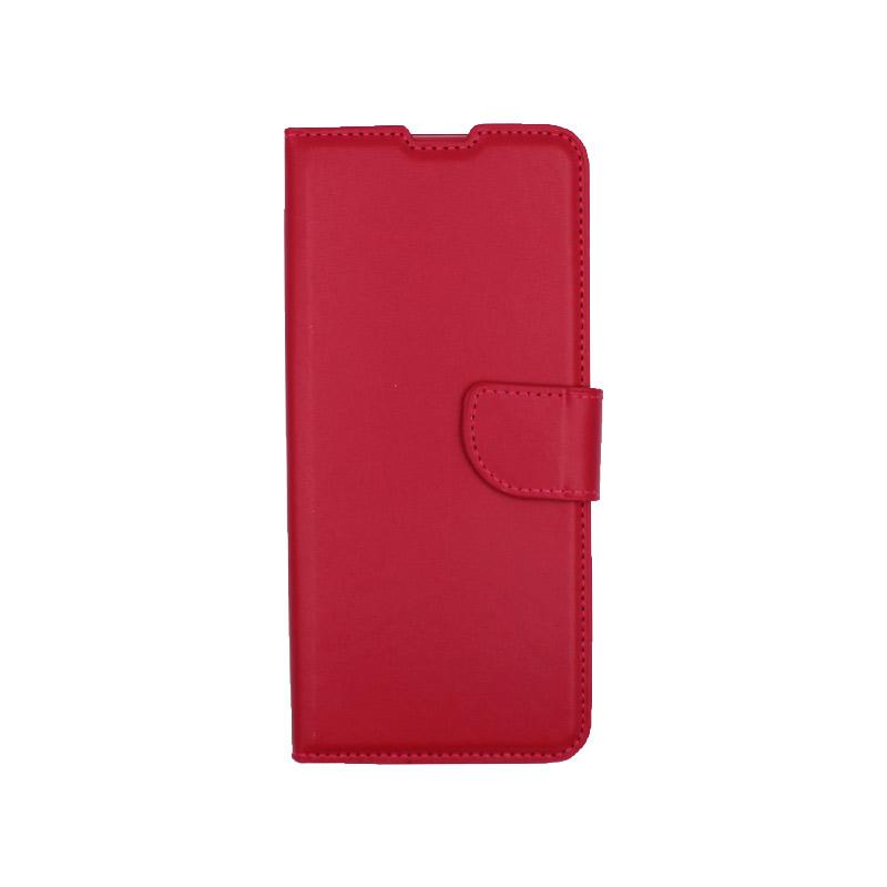 Θήκη Xiaomi Redmi Note 9S / Note 9 Pro / Max πορτοφόλι κόκκινο 1