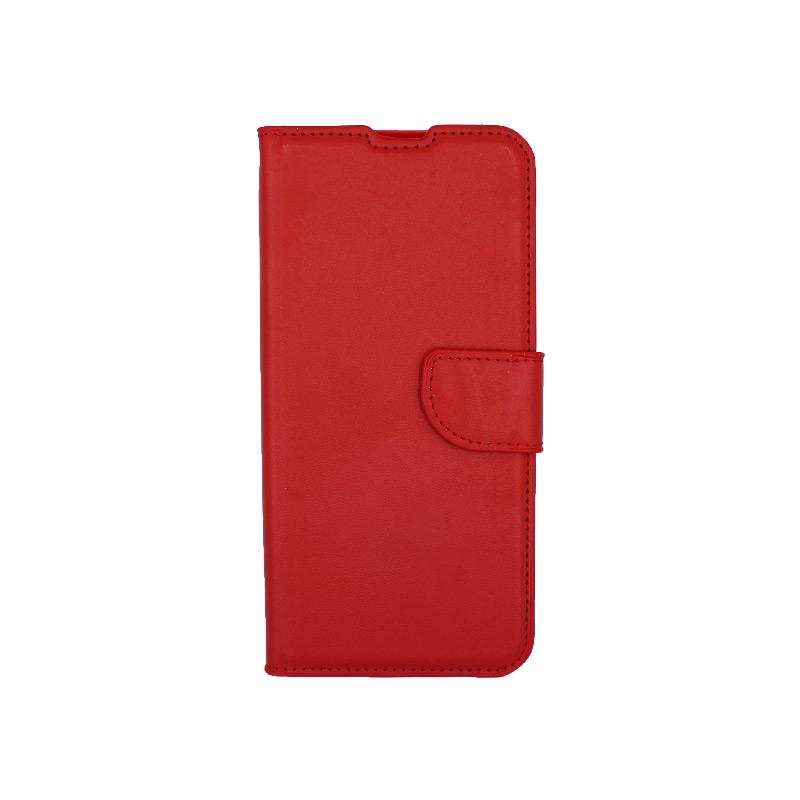 Θήκη Xiaomi Redmi Note 8 Pro πορτοφόλι κόκκινο 1