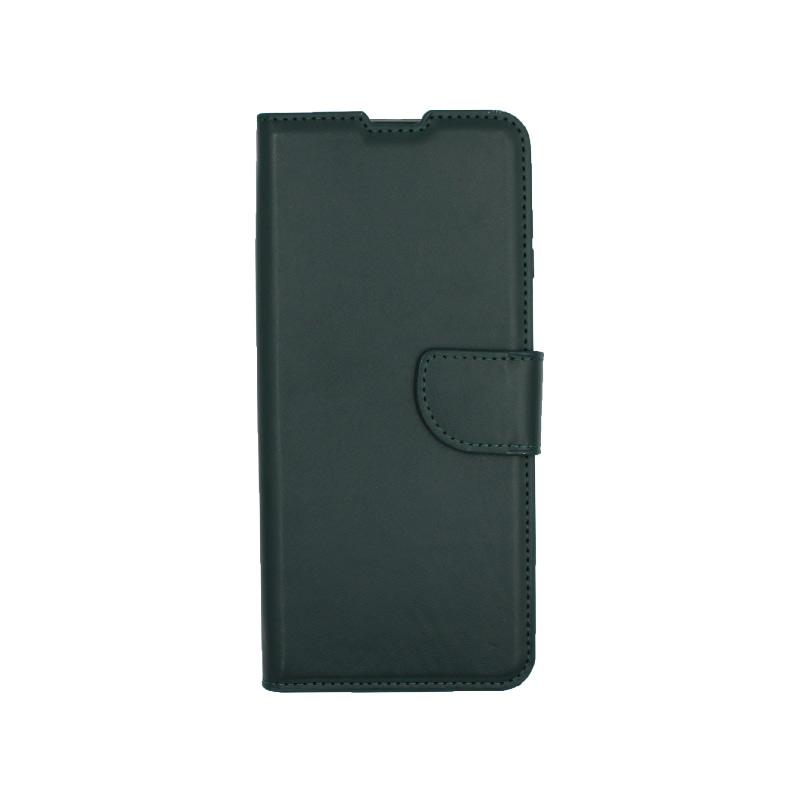 Θήκη Xiaomi Redmi Note 9S / Note 9 Pro / Max πορτοφόλι πράσινο 1