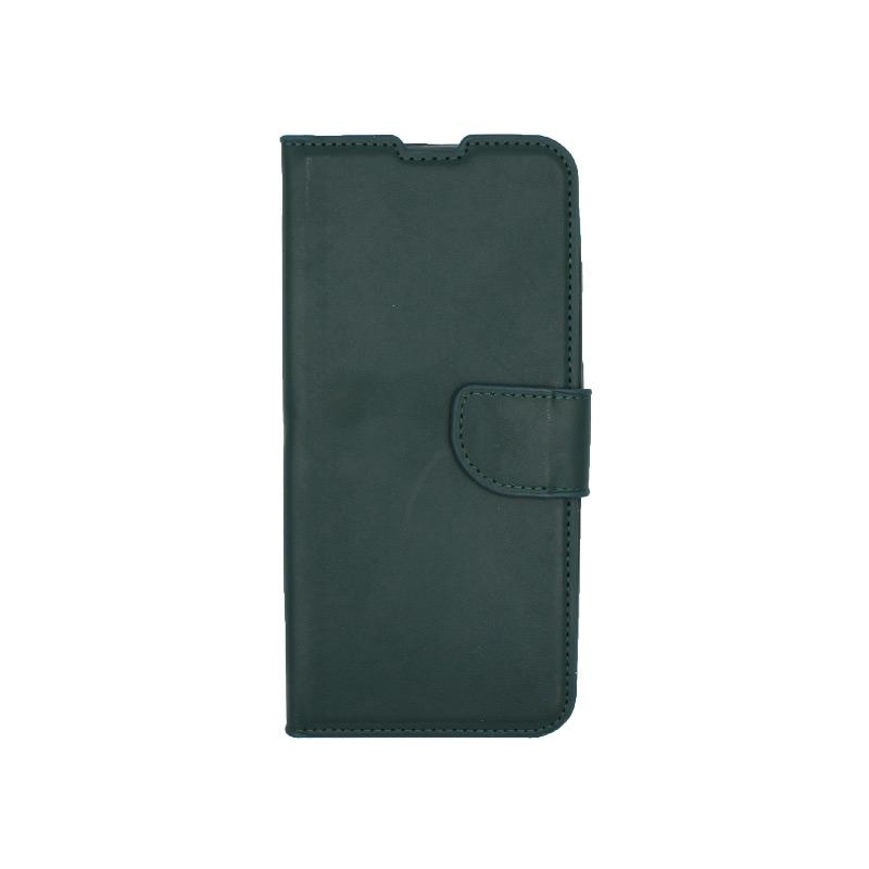 Θήκη Xiaomi Redmi Note 8 Pro πορτοφόλι πράσινο 1